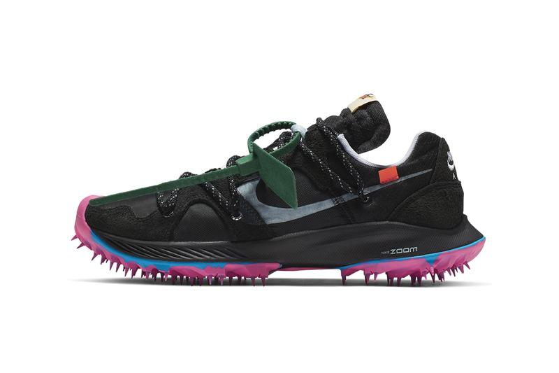 Off-White x Nike Zoom Terra Kiger 5 Release Details Official First Closer Look Sneakers Trainers Kicks Footwear Cop Purchase Buy Coming Soon Date Caster Semenya