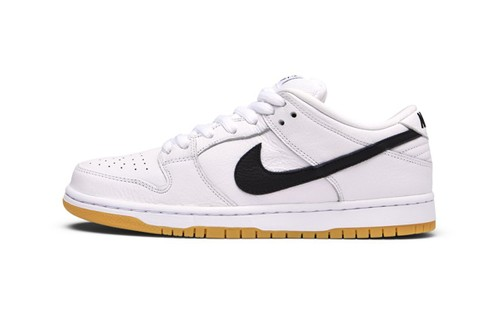 "Nike SB Offers a White Dunk Low Variant to ""Orange Label"" Collection"