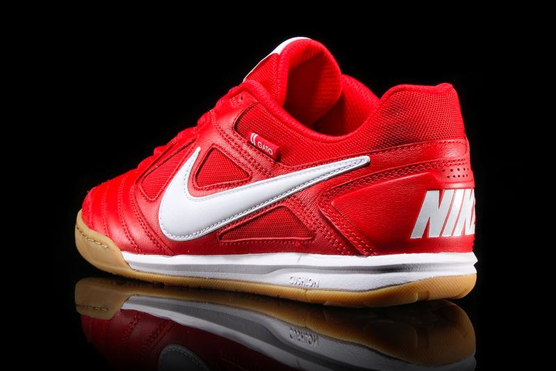 Nike SB Gato University Red White Gum Release Supreme red soccer football gum