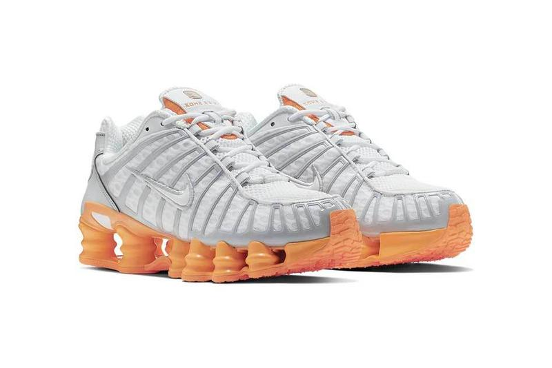 "Nike Shox TL ""Fuel Orange"" Sneakers"
