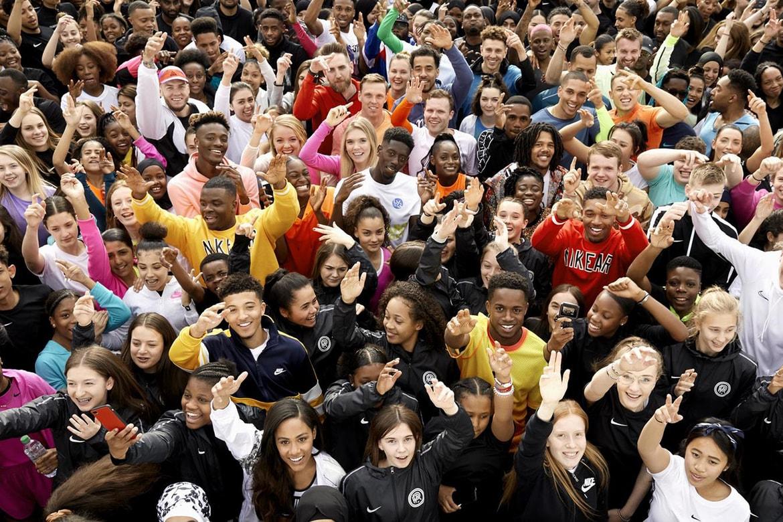 Abundancia Trampas Existencia  Nike Youth Sports Partnerships London Info   HYPEBEAST
