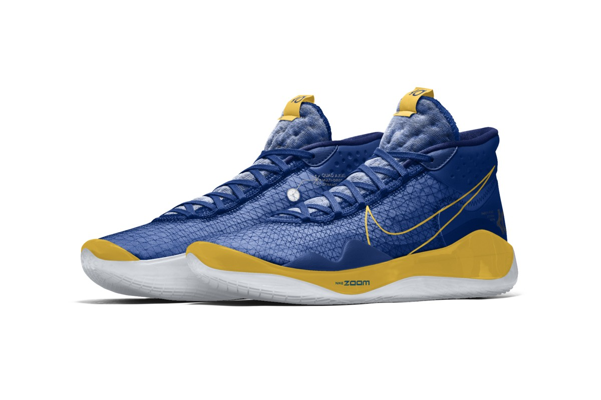 Nike Zoom KD12 By You CMYK Options