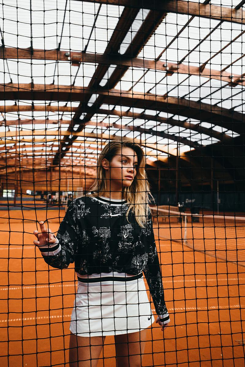 NikeCourt Paris Collection Tennis Apparel Nike France Toile