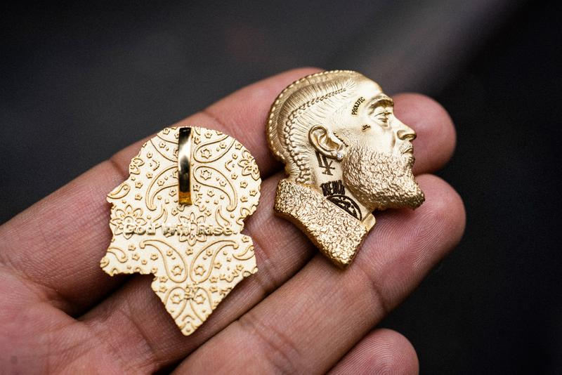 Lauren London Nipsey Hussle Pendant