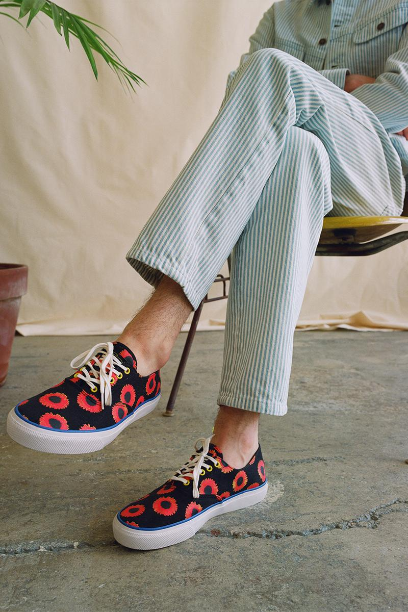 NOAH NYC x Sperry Footwear Cloud CVO Collection Flora Print Collaboration Spring Summer 2019 SS19 Drop Date Release Information May 23 11AM New York Tokyo