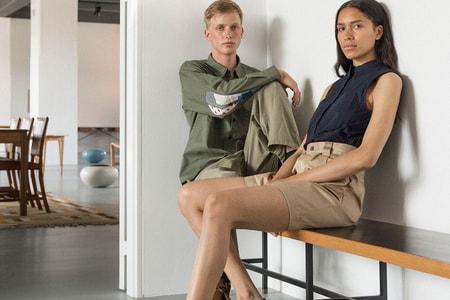 Norse Store Spotlights Liberty Fabric Shirts & Studio Nicholson in Summer 2019 Editorial