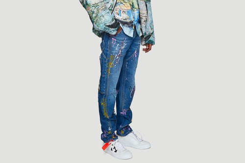 Off-White™ Adds the Carpenter Splatter Jeans to SS19 Lineup