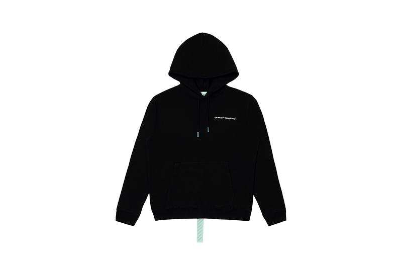 Off-White™ Queen's Road Central Hong Kong Paterson Street Virgil Abloh Exclusive City Series Hoodie T-shirt First Look Release Details buy cop purchase