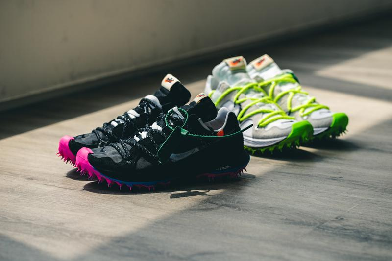 Take a Look at the Details on the Off-White™ x Nike Zoom Terra Kiger 5