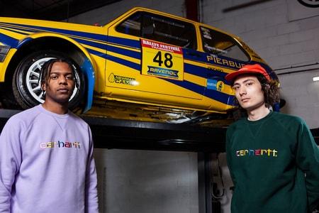 Oi Polloi & Carhartt WIP Return With Technicolor-Logo Sweatshirts