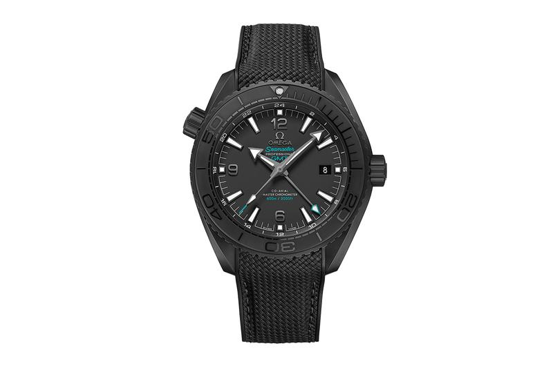 OMEGA Seamaster Planet Ocean Casamigos Release deep black watches timepiece tequila george clooney limited edition