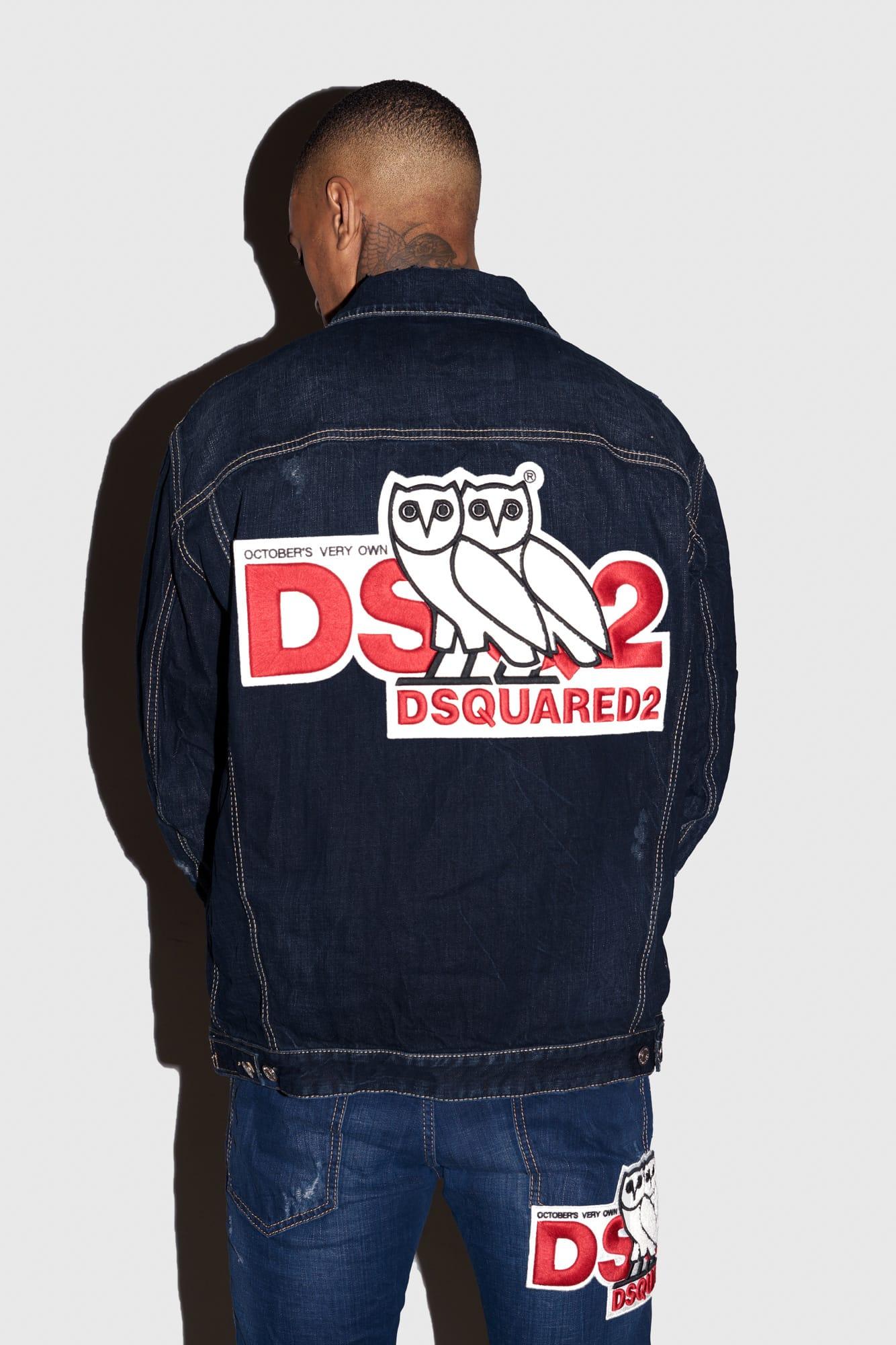 dsquared track jacket