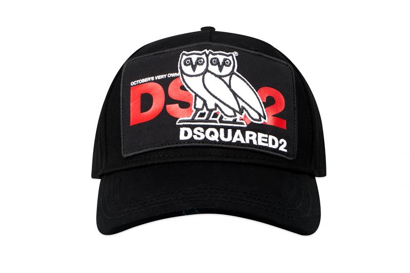OVO x Dsquared2 SS19 Collaboration spring summer October's very own drake canada owl logo