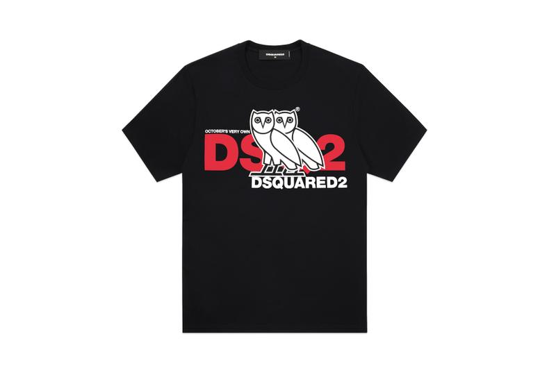 2aa126076bb4 OVO x Dsquared2 SS19 Collaboration spring summer October s very own drake  canada owl logo