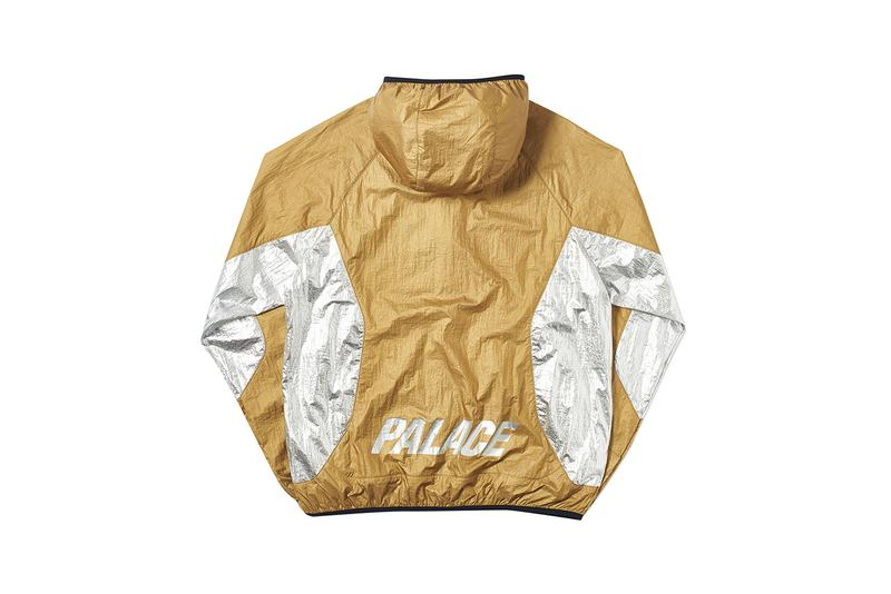 Palace Summer 2019 Week 5 Drop List every piece releasing buy cop purchase foil jacket irie t-shirt striped argyle knit polo denim stone washed shirt cap hat bag tee very powerful slick