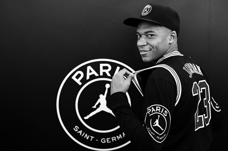 PSG x Air Jordan 6 First Look Paris Saint-Germain jordan brand nike football collaborations jumpman kylian mbappe