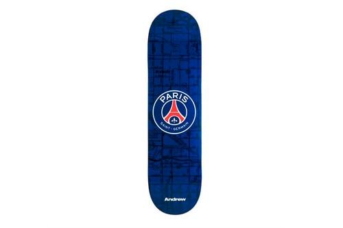 Paris Saint-Germain & Retailer Andrew Release Limited Edition Skate Decks