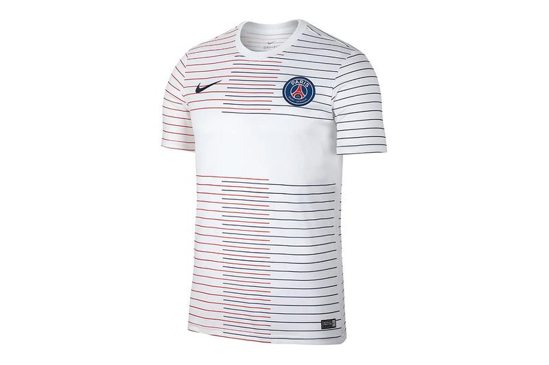 Paris Saint-Germain's 2019/20 Training Gear psg football soccer red white blue france tops pants shorts jerseys