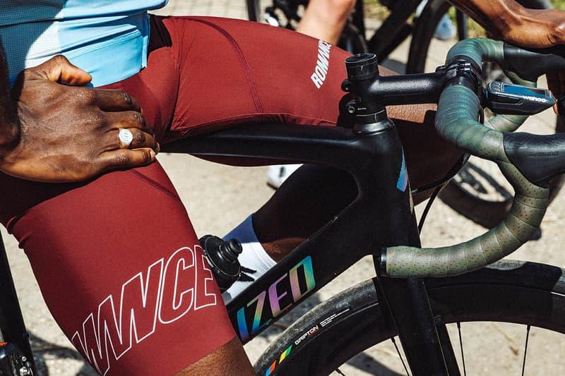 Parra x Romance Cycling Kit Collection Drop Spring Summer 2019 SS19 Dust Newsprint EROC Bibshorts Red Grey Sports Jerseys Technical