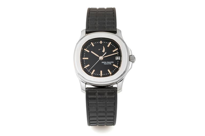 Patek Philippe Aquanaut Prototype 5060 Auction Sale Price antiquorum swiss watchmaking