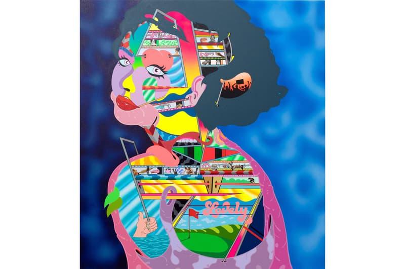 peter saul erik parker nanzuka exhibition artworks paintings collaborations tokyo japan