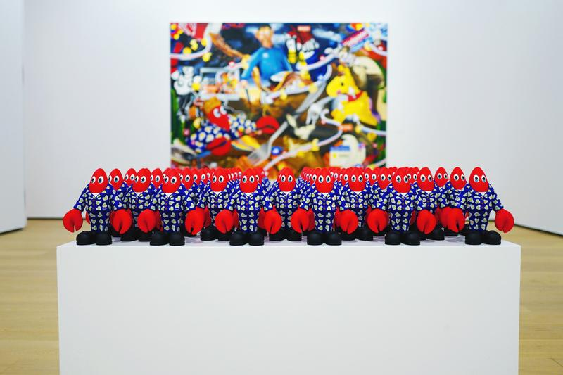 philip colbert lobster land exhibition artworks paintings shows installations sculptures