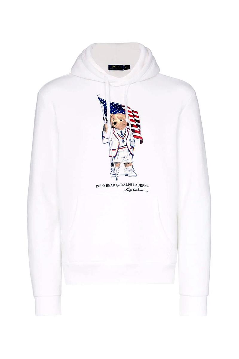 Ralph Lauren's Polo Bear Proudly Carries the American Flag in Latest Pieces