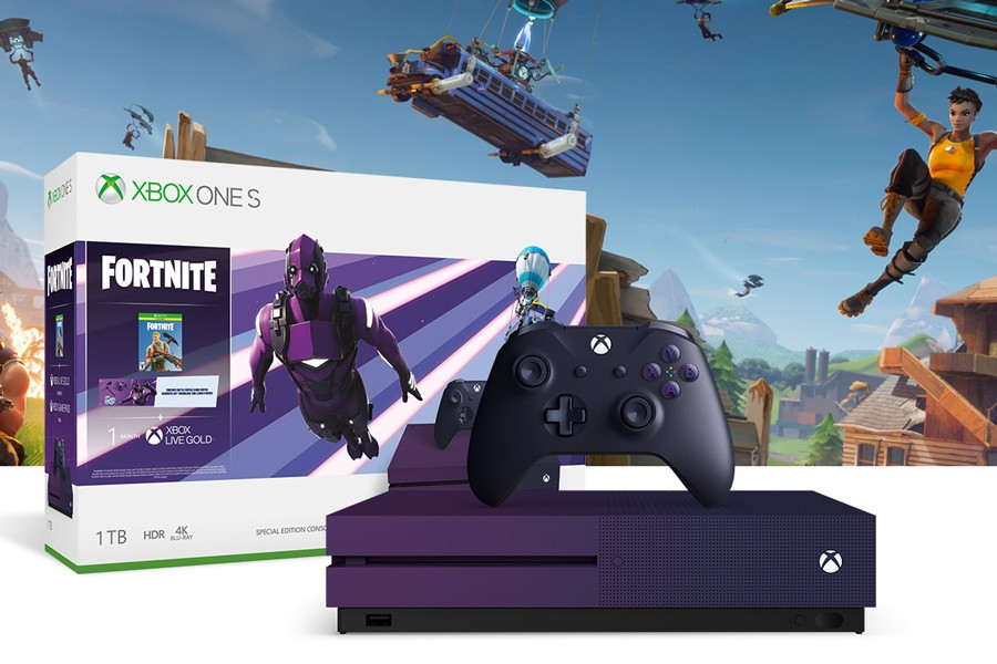 A Purple 'Fortnite' Themed Xbox One S Has Leaked | HYPEBEAST