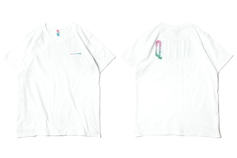 Qucon App T-Shirt Launch Tokyo Skateboarding shirts fashion tees embroidery