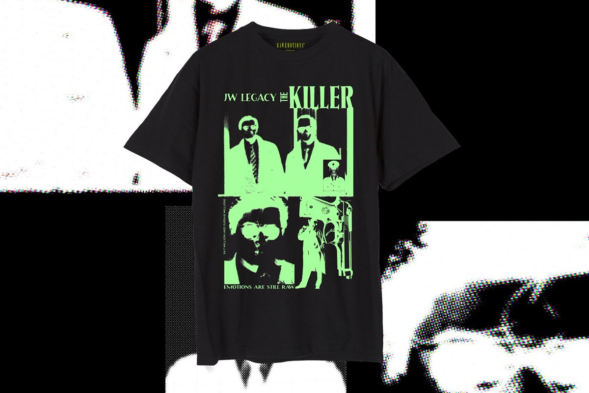 Rawemotions UPPERGROUND THE SMELL OF RAW Pop-Up T-shirt Release Info Date CENTIPEDE HORROR A BETTER TOMORROW THAI EDITION THE KILLER THAI EDITION