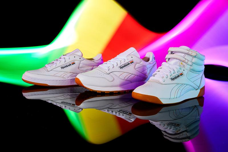Reebok Pride Pack for LGBTQ Pride Month Info gay rights lesbian transexual queer sneakers shoes Club C Classic Leather Freestyle Hi