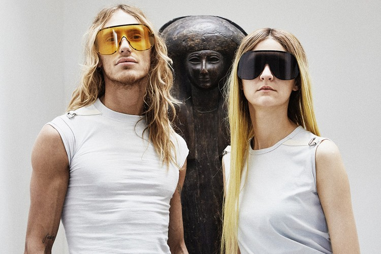 48bb56f381327 Rick Owens to Release Two New Statement Sunglasses