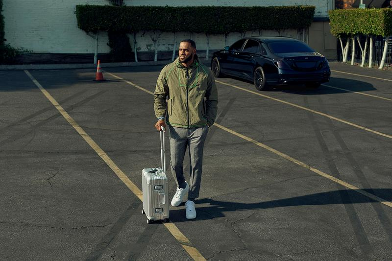 "RIMOWA ""Neverstill"" Campaign, LeBron james Kim Jones yuja wang star feature seasonal collection suitcase luggage travel"