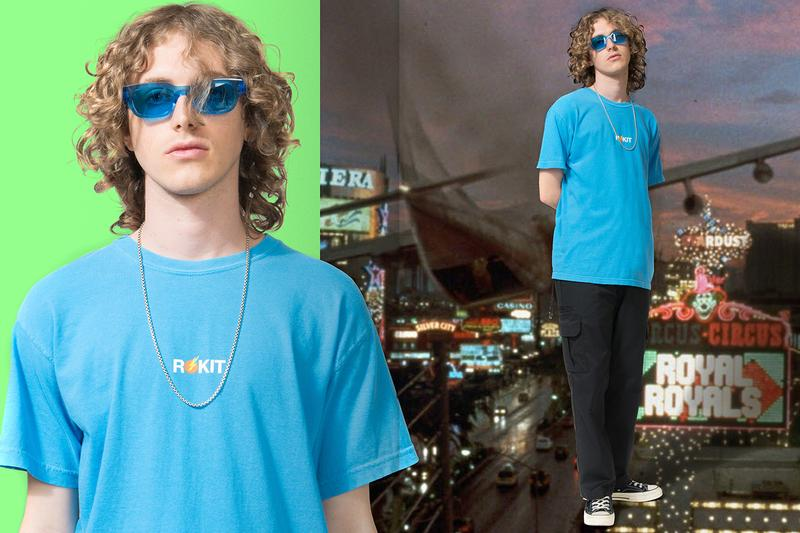 ROKIT Summer 2019 Collection 'that was on tv last night' lookbook vintage cult classic film references