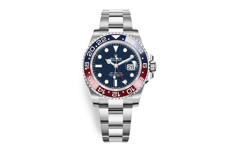 Rolex GMT-Master II 18ct White Gold Pepsi Release Blue Red 2019 Info