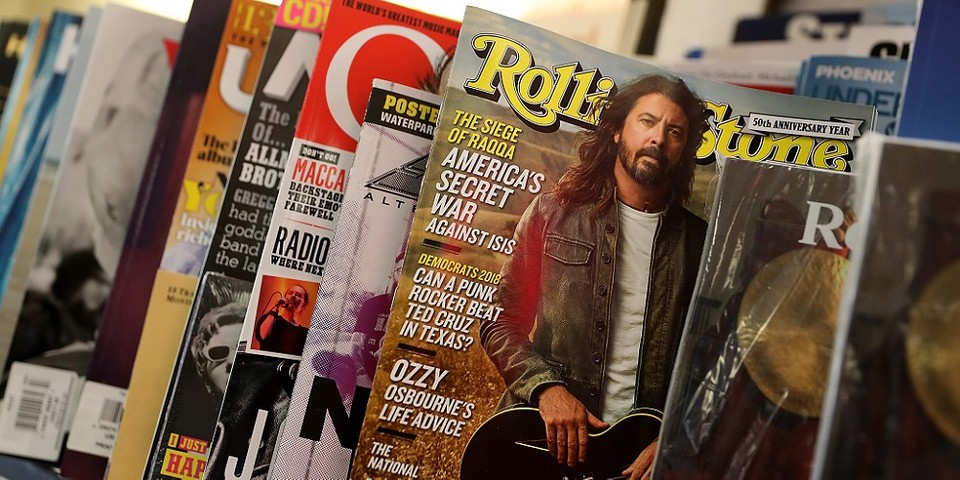 Rolling Stone Launches Own Music Sales Charts | HYPEBEAST