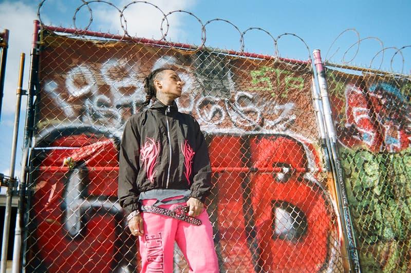ROSE IN GOOD FAITH B.B. Simon Belt Capsule Black Silver Purple Red Lil Gnar Cowboy Mosh