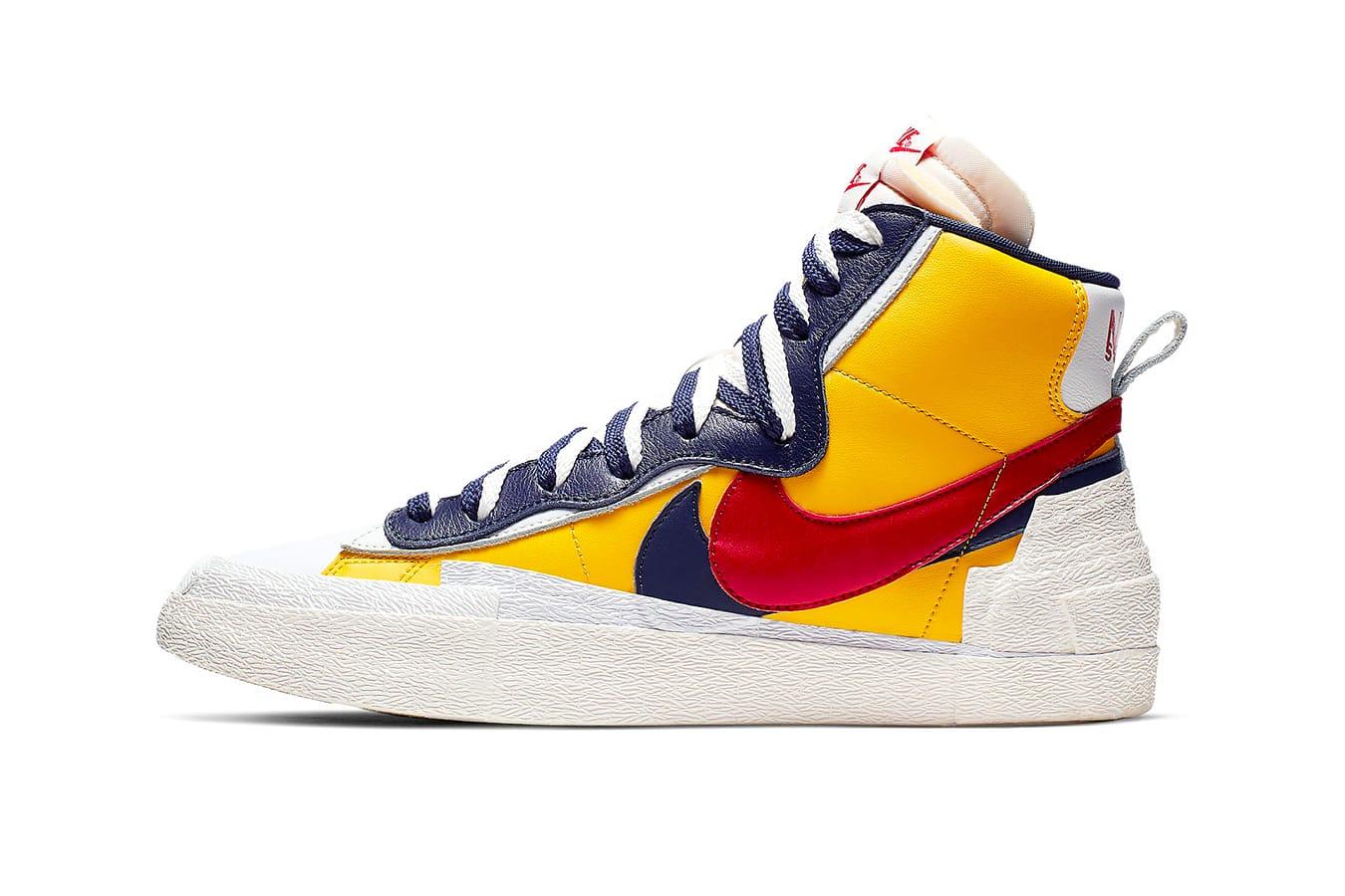 sacai x Nike Blazer High Pack Release