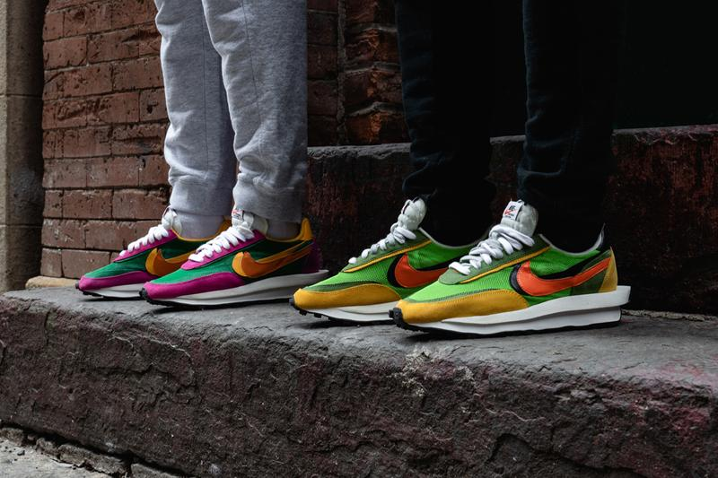 14e2faae sacai x Nike LDWaffle Daybreak Collab On-Feet sneaker shoe release date  info buy colorways