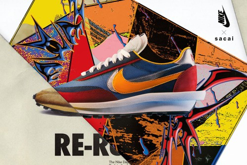 sacai x Nike LDWaffle and Blazer Mid Official Release Dates and Store List