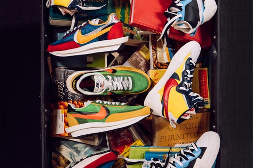 Get a Chance to Cop the sacai x Nike Collection With Notre's Book Drive Raffle