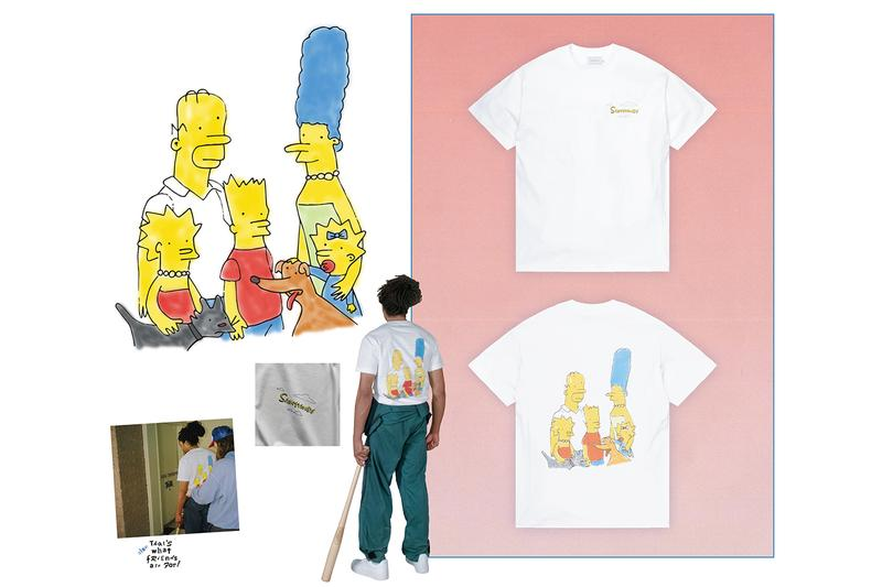 Saintwoods SW.007 Collection Lookbook Release t shirt hoodie sweater beanie grinder baseball bat Lexus ES300 Simpsons oddjob