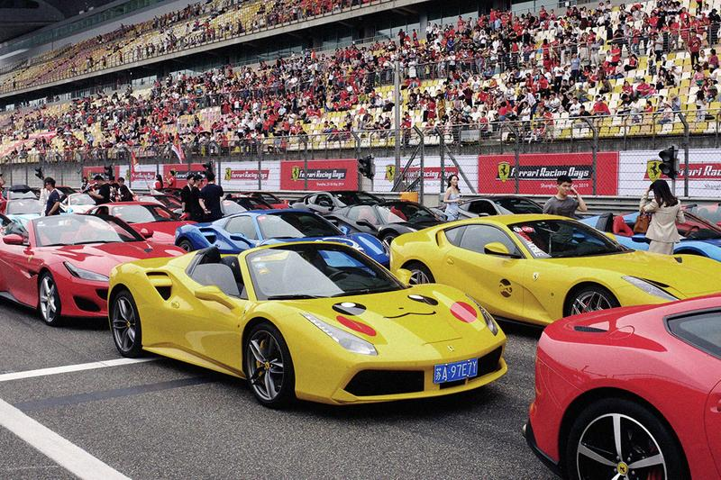 """Ferrari Racing Days"" Shanghai Circuit 2019 China Formula One v8 488 Tributo F8 308, 360, 458 Ferrari Asia Pacific Challenge"