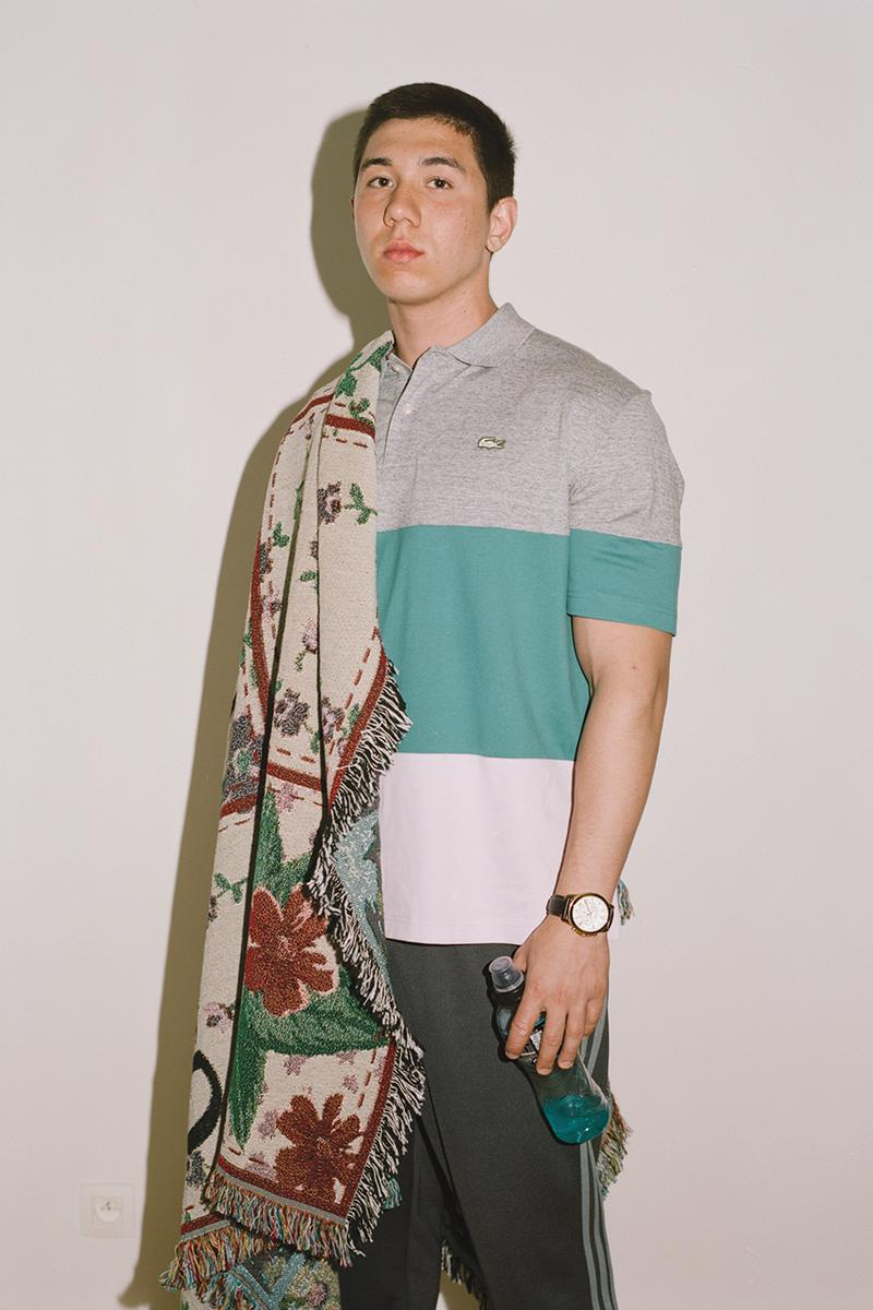 "Slam Jam Socialism ""Boolin in Brussels"" Spring Summer 2019 Editorial Lookbook Stussy Moncler The North Face Nike Shox FRGMT Asics Polo Ralph Lauren Commes des Garcons Shirt"