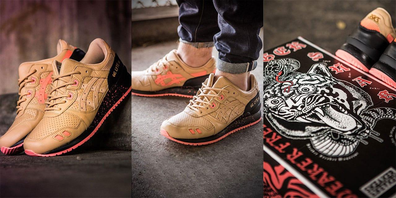 Sneaker Freaker x ASICS GEL-Lyte III