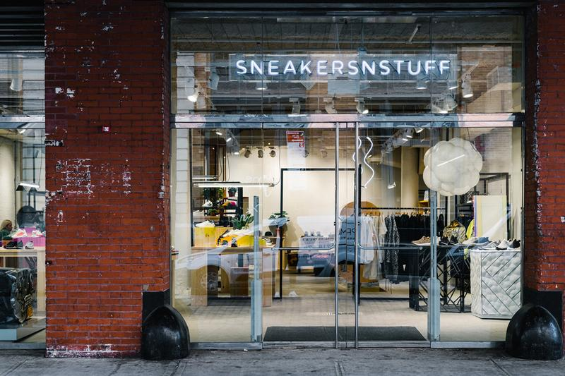 sneakersnstuff sneakers n stuff tokyo flagship store opening boutique launch