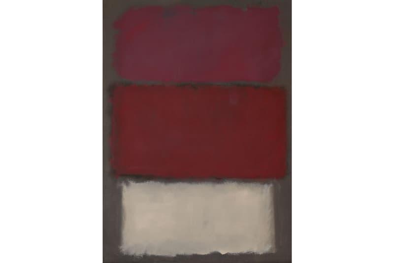 sothebys contemporary art sale francis bacon study for a head mark rothko mark bradford