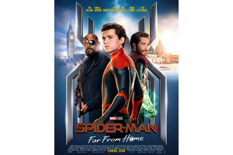 Spider-Man: Far From Home Latest Posters Mysterio Nick Fury Zendaya MJ Marvel Studios Sony Pictures Release Info Date