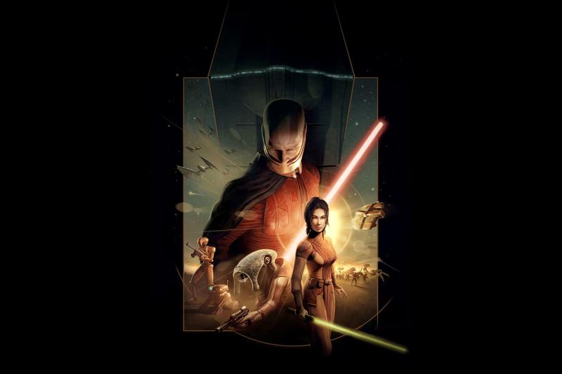 Star Wars Knights of the Old Republic Movie in Development George Lucas disney KOTOR Lucasfilm