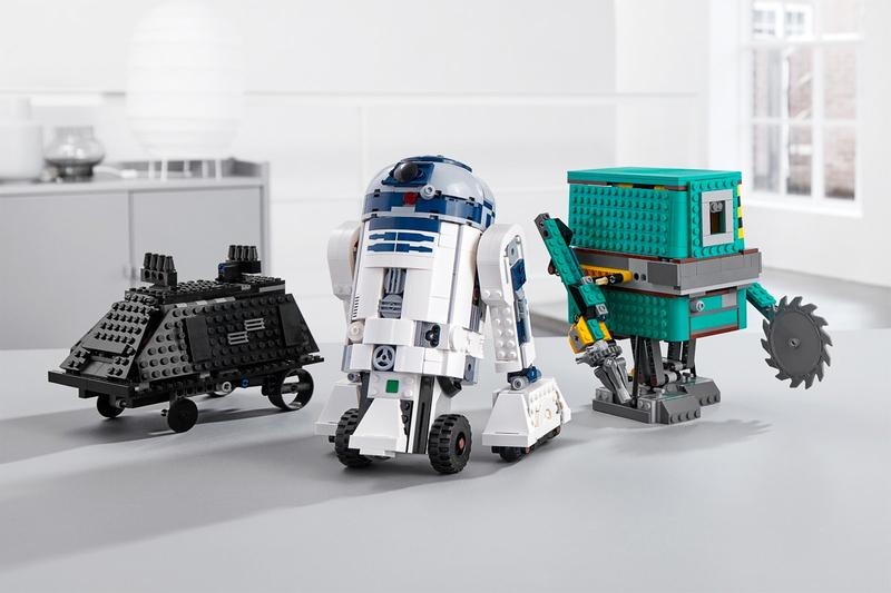 LEGO 'Star Wars' BOOST Droid Commander Set Details set programmable R2-D2, the Gonk droid, and the Mouse droid application controllable drop date price info release